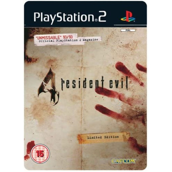Resident Evil 4 Steel Book PS2 Game [Used]