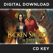 Broken Sword 5 Serpents Curse PC CD Key Download for Steam