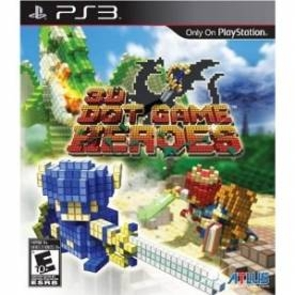3D Dot Heroes Game PS3