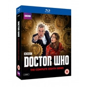 Doctor Who The Complete Series 8 Blu-ray