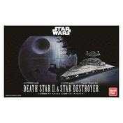 Bandai Star Wars Death Star II & Star Destroyer Model Kit