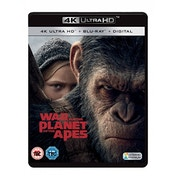 War for the Planet of the Apes 4K UHD Blu-ray