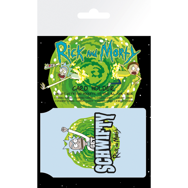 Rick and Morty Schwifty Card Holder - Image 1