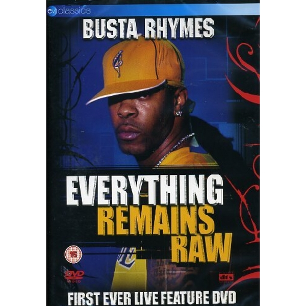Everything Remains Raw DVD