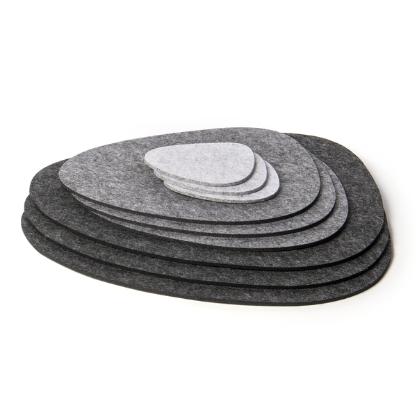 Felt Placemats and Coasters | Pukkr Set of 9