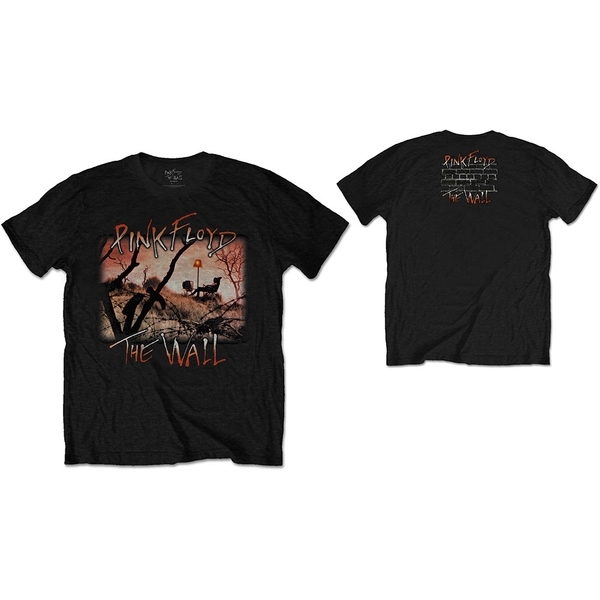 Pink Floyd - The Wall Meadow Unisex Large T-Shirt - Black