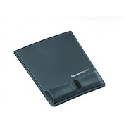 Fellowes Fabrik Mouse Pad Wrist Support Graphite
