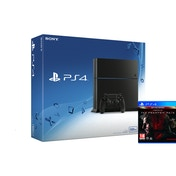 PlayStation 4 C-Chassis (500GB) Black Console + Metal Gear Solid V The Phantom Pain Day One Edition