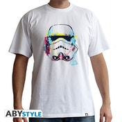 Star Wars - Graphic Trooper Men's Large T-Shirt - White