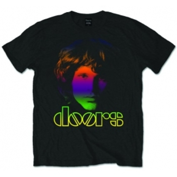 The Doors Morrison Gradient Mens Blk T Shirt: Medium