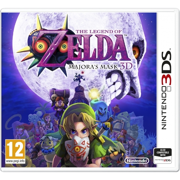 The Legend Of Zelda Majoras Mask 3DS Game - Image 1