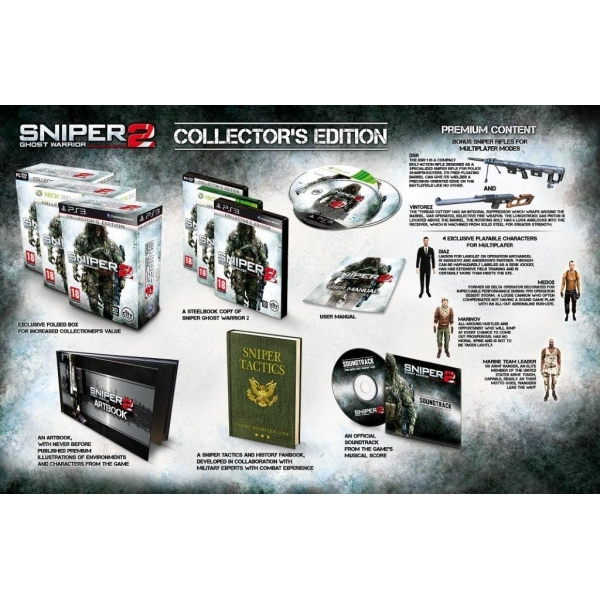 Sniper Ghost Warrior 2 Collector's Edition Game PC - Image 2