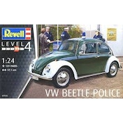 VW Beetle Police 1:24 Revell Model Kit