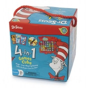 Dr Seuss 4 in 1 Games Cube Board Game