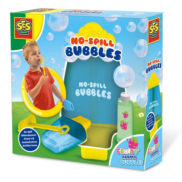 SES Creative - Children's Fruity Aroma No Spill Bubbles (Multi-colour)