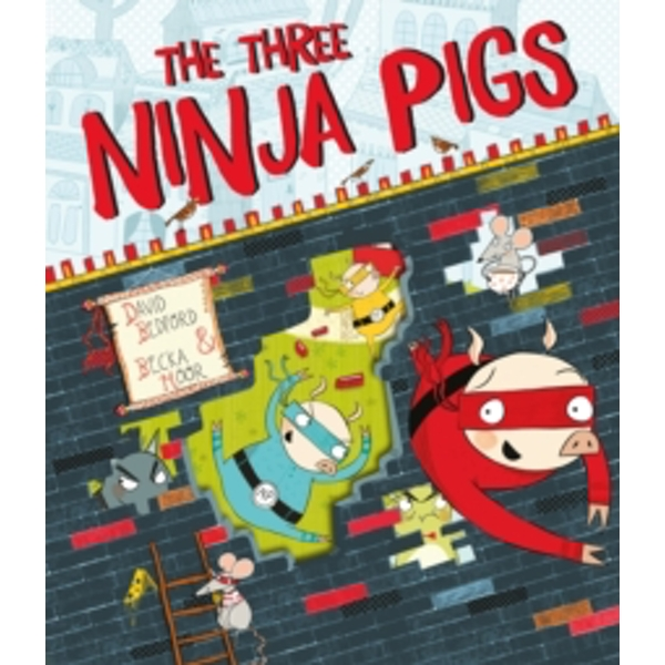 The Three Ninja Pigs by David Bedford (Paperback, 2016)