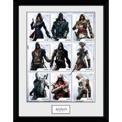 Assassins Creed Compilation Characters Framed Collector Print
