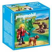 Playmobil Wildlife Beavers with Backpacker