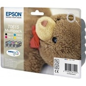 Epson C13T06154010 (T0615) Ink cartridge multi pack, 250 pages, 4x8ml, Pack qty 4