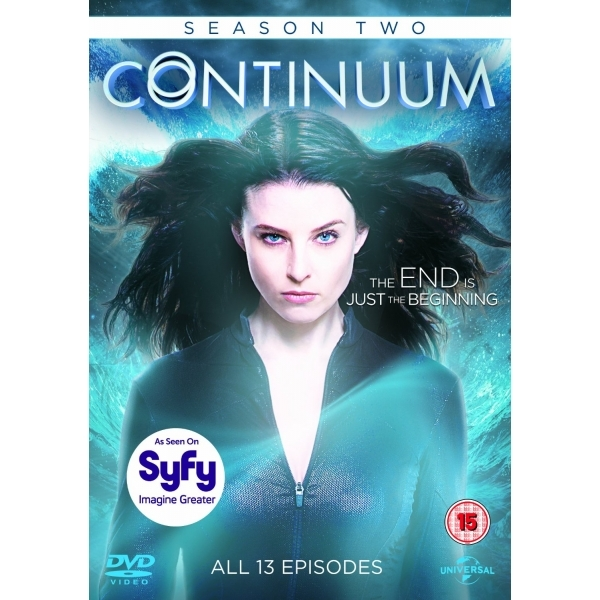 Continuum Season 2 DVD