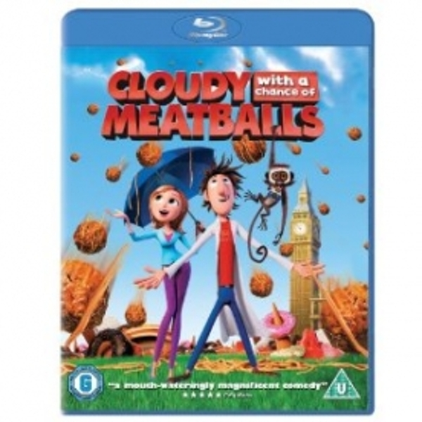 Cloudy With a Chance of Meatballs 2009 Blu-ray - Image 1
