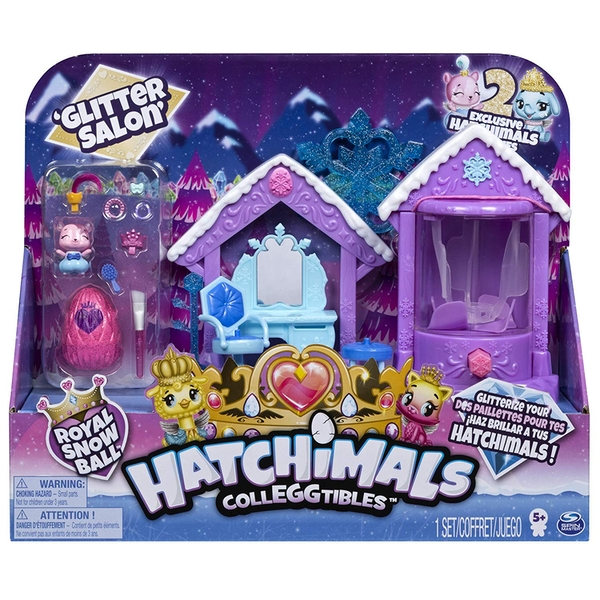 Hatchimals CollEGGtibles Sparkle Spa Playset