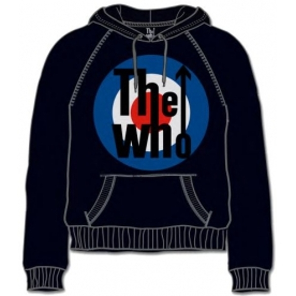 The Who Target Classic Black Mens Hoodie Size: Small
