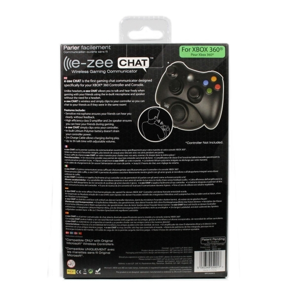Xbox 360 e-zee CHAT Wireless Gaming Communicator (No Headset Required) - Image 4