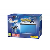 3DS XL Pokemon Console Blue with Pokemon X
