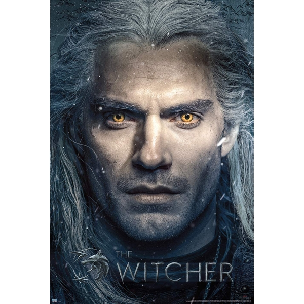 The Witcher TV Close Up Maxi Poster