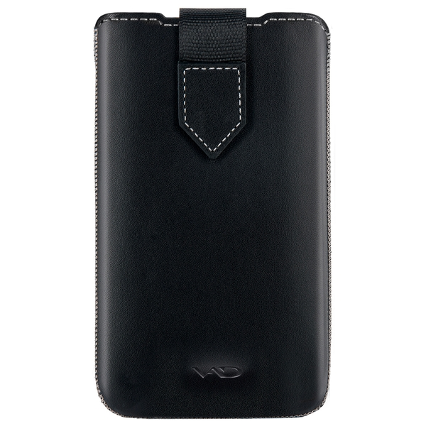 Vicious and Divine Superior Leather Soft Pouch For Samsung Galaxy SII and Others Large Devices