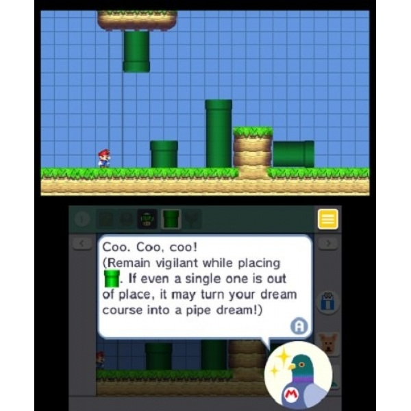 Ex-Display Super Mario Maker 3DS Game Used - Like New - Image 3
