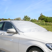Car Windscreen Sun Shade | Flexible Reflective UV Protective Foil Cover | M&W