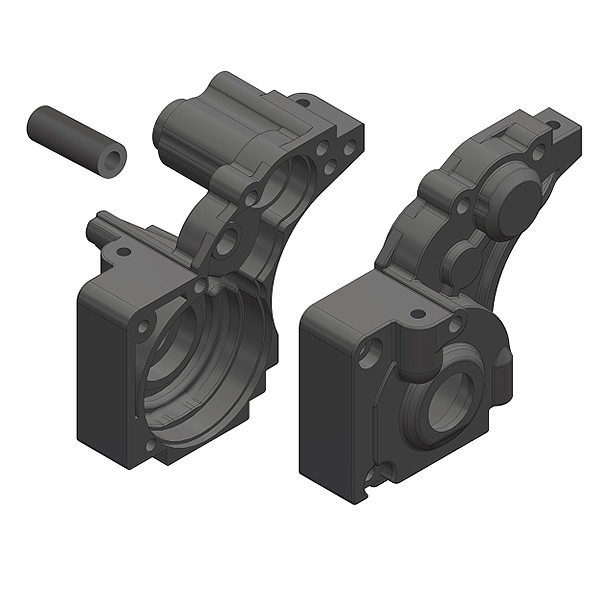 Corally Gearbox L/R Composite 1 Set
