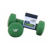 Yoga-Mad Neoprene Dumbbells 1.5KG