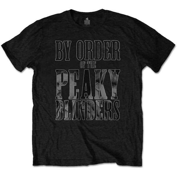 Peaky Blinders - By Order Infill Men's Large T-Shirt - Black