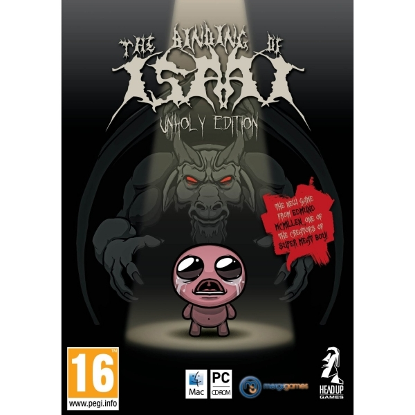 The Binding of Isaac Unholy Edition Game PC & MAC