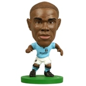 Soccerstarz Man City Micah Richards Home Kit
