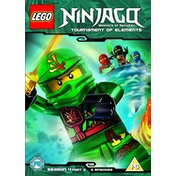 Lego Ninjago - Masters Of Spinjitzu: Tournament Of Elements - Season 4 (Part 2) DVD