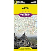 Java: Travel Maps International Adventure Map by National Geographic Maps (2012)
