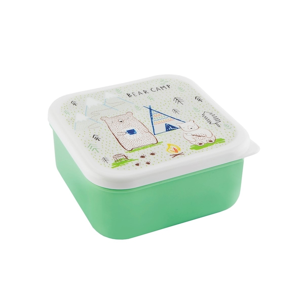 Sass & Belle Bear Camp Lunch Box