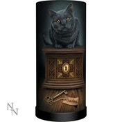 Pandora's Box Cat Lamp