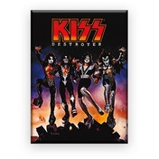 Kiss Destroyer Flat Magnet