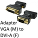 VGA (M) to DVI-A (F) Black OEM Adapter - Image 2