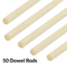 Bamboo Dowel Rods - Set of 50 | Pukkr - Image 5