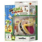 Poochy & Yoshi's Wooly World + Poochy Amiibo 3DS Game
