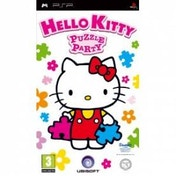 Hello Kitty Puzzle Party Game PSP
