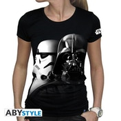 Star Wars - Vador-Troopers Women's Small T-Shirt - Black