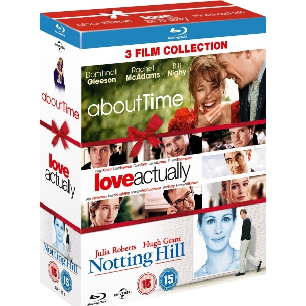 About Time/Love Actually/Notting Hill (Triple Pack) Blu-ray