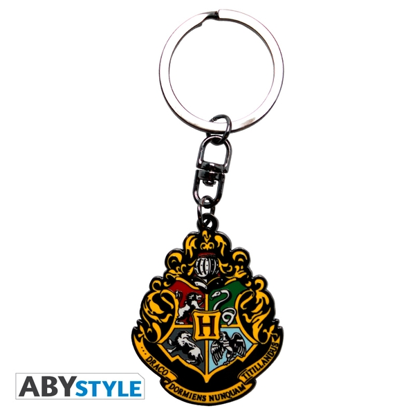 Harry Potter - Hogwarts Metal Keyring